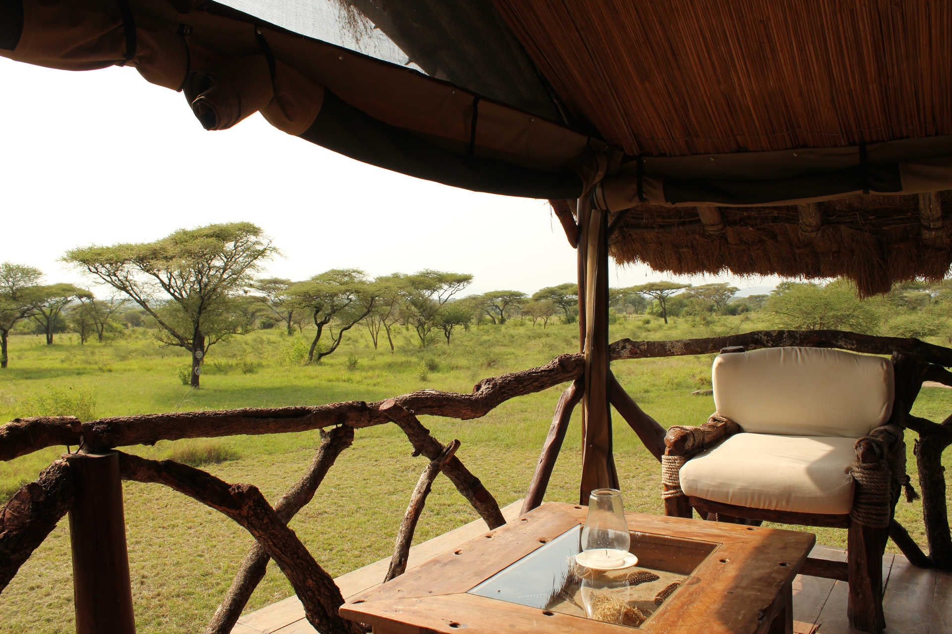 luxury tented camp serengeti